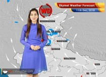 Weather Forecast for Dec 11: Snowfall in Jammu and Kashmir and Himachal Pradesh, Light rains in Delhi