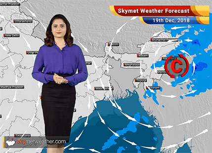 Weather Forecast for Dec 19:Dry weather over Central India; rains in Northeast India
