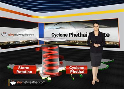 Cyclone Phethai makes landfall at Andhra Pradesh coast between Kakinada and Narsapur
