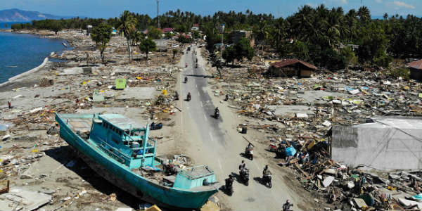 Indonesia Disaster Agency: Tsunami Kills at Least 20, Injures 165