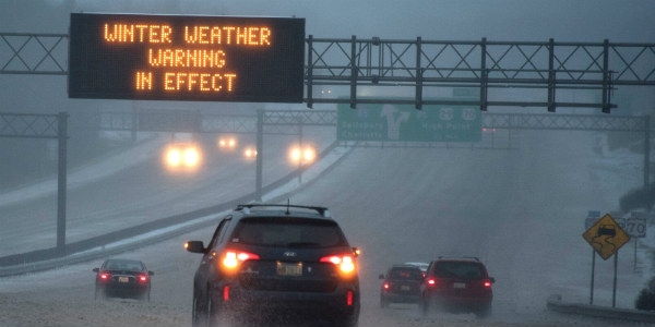 Winter Weather Warnings, Advisories issued until Sunday morning