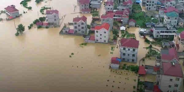 China floods web