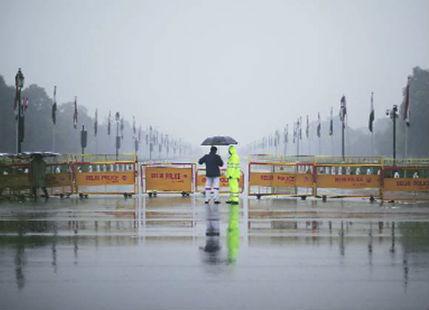 Delhi rains and pollution