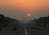 Delhi sunny morning Vishwagujarat 429