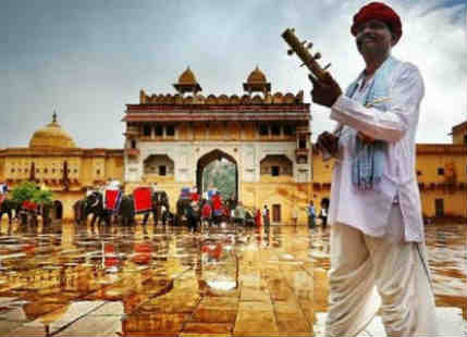 Rains over Rajasthan