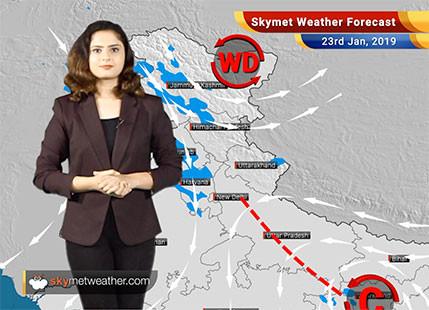 Weather Forecast for Jan 23: North India, Uttar Pradesh,Biharto witness rains