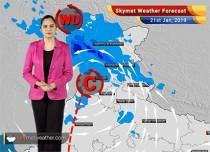 Weather Forecast Jan 21: Kashmir, Himachal, Uttarakhand to witness heavy rain and snow