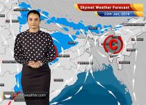 Weather Forecast Jan 25: Light to moderate rains over Kashmir, Himachal Pradesh, Uttarakhand