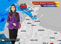 Weather Forecast Jan 30: Cold Wave to abate from Punjab, Haryana, UP and Rajasthan