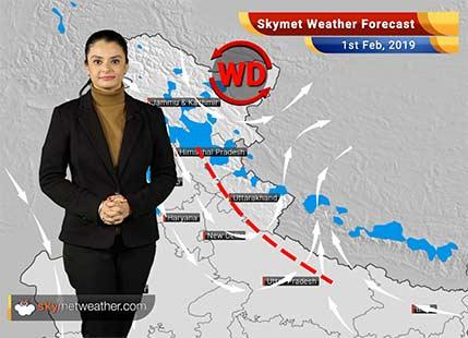 Weather Forecast Feb 1: Light rain, snow over Gulmarg, Kedarnath, Kullu, Dharamshala
