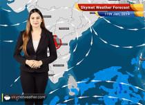 Weather Forecast Jan 11: Rain and snow in Jammu and Kashmir, Himachal Pradesh, Uttarakhand