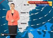 Weather Forecast Jan 13: Rain and snow in Kashmir, Himachal, Uttarakhand