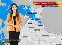 Weather Forecast for Jan 20: Rain and snowfall in the northern hills, pollution to increase over Delhi