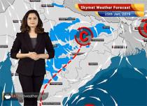 Weather Forecast for Jan 25: Jammu-Kashmir, Himachal Pradesh, Uttarakhand to witness rains