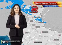 Weather Forecast for Jan 11: Jammu and Kashmir, Himachal Pradesh, Uttarakhandto witness rain and snow