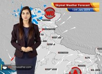 Weather Forecast for Jan 12: Rain and snowfall in North India. Relief from cold nights in the Plains