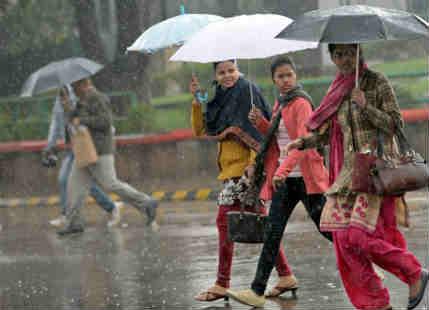 Rain in Delhi, Punjab, Haryana