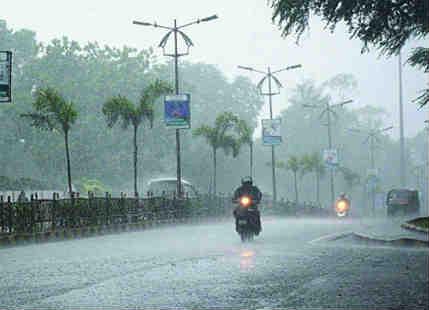 Rain in Odisha
