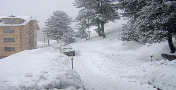 Snowfall in Srinagar-Jagran 600