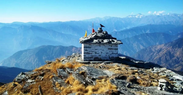 Uttarakhand dry weather-Chandrashila dot com-600