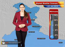 Weather Forecast Jan 14: Rain and snow in Jammu and Kashmir, Himachal Pradesh and Uttarakhand to continue