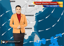 Weather Forecast Jan 15: Light rain and snow in Kashmir; Himachal, Uttarakhand to remain dry