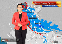 Weather Forecast Jan 22: Ferocious rain, snow over Kashmir, Himachal, Uttarakhand with moderate rains in northwest plains