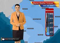Weather Forecast Jan 29: Isolated light rain, snow over Kashmir, Himachal Pradesh