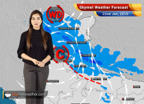 Weather Forecast for Jan 22: Rainfall in entire North India, snow over mountains