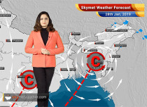Weather Forecast for Jan 28: Cold to intensify over Northwest India; Light rain and snow in Western Himalayas