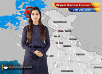 Weather Forecast for Jan 29: Light rain, snowfall ahead for Jammu-Kashmir, Himachal Pradesh