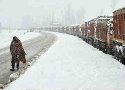 Heavy snowfall over Jammu & Kashmir