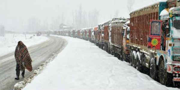 Jammu- Srinagar highway closed
