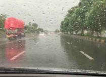 Rain in Central India