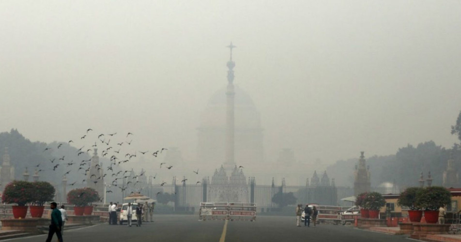Delhi pollution today