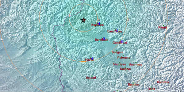 Earthquake in Kashmir 1