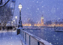 Cold Snap in UK