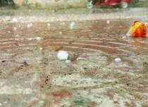 Hailstorm in Kolkata