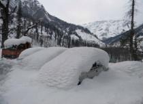 Heavy snowfall in himachal-Sun post 429