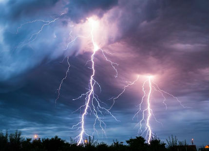 Lightning in India