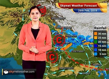 Weather Forecast Feb 26: Rain in Kolkata, Delhi, Chandigarh, Srinagar likely