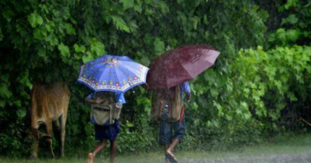Northeast rains