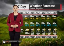 Weather Forecast for Nagaland from February 14 to 20 | Skymet Weather