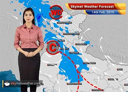 Weather Forecast Feb 14: Rain and snow over Jammu-Kashmir, Himachal Pradesh