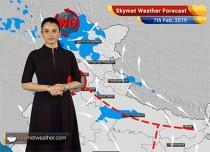 Weather Forecast Feb 7: Heavy rains, snow in Srinagar, Badrinath; Delhi rains to return