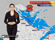Weather Forecast Feb 8: Rain in Kashmir, Himachal to continue; Delhi rains to ease out