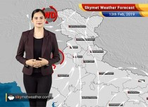 Weather Forecast Feb 13: Rain in Kashmir, Himachal, parts of Uttarakhand, Punjab, Haryana and Delhi likely