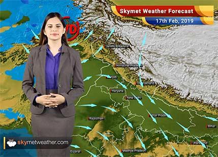 Weather Forecast Feb 17: Rain in Tamil Nadu, Andhra, Kerala; snow in Kashmir, Himachal, Uttarakhand