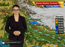 Weather Forecast Feb 22: Light rain in Himachal, Uttarakhand, West UP; dry weather in Delhi, Kashmir, Rajasthan
