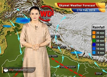 Weather Forecast Feb 27: Rain in Delhi, Patna, Ranchi, Kolkata; Lightning in West Bengal, Odisha, Bihar